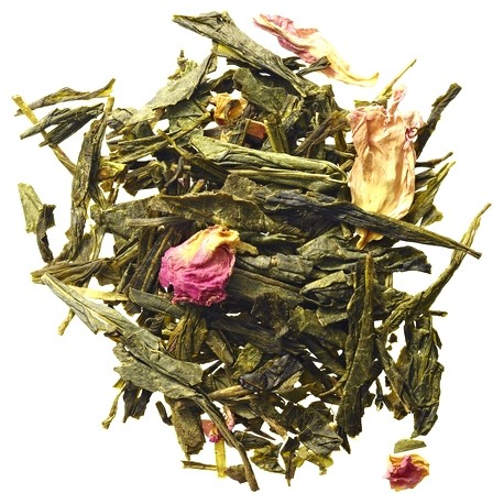 Chinese Sencha Green Tea with Vanilla and Cherry Blossom 20 teabags