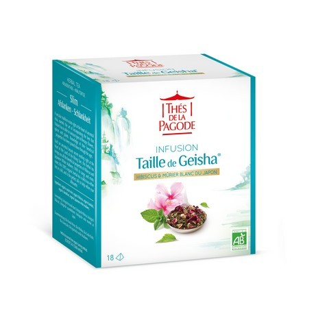 Taille de Geisha 18 infusettes