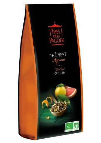 Green Tea with Citrus Fruit 100g