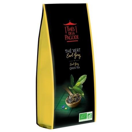 Earl Grey Green Tea 100g